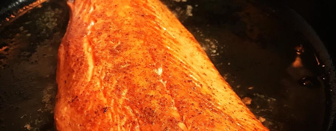 How much protein in wild alaska salmon